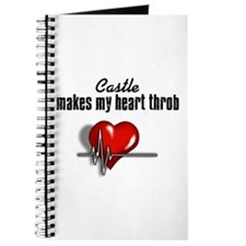 Castle makes my heart throb Journal