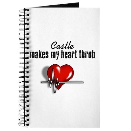 Castle makes my heart throb Journal