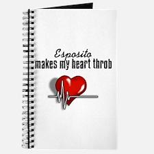 Esposito makes my heart throb Journal