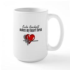 Kate Beckett makes my heart throb Ceramic Mugs