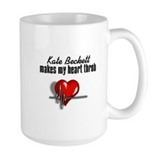 Kate Beckett makes my heart throb Mug