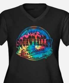 Squaw Valley Old Circle Women's Plus Size V-Neck D