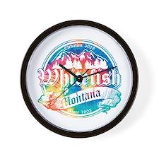 Whitefish Old Circle 2 Wall Clock