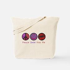 Smile & Kiss ME! Tote Bag