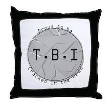 TBI Throw Pillow