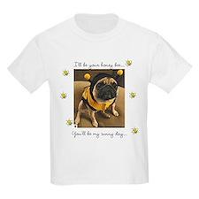 Honey Bee-Pug-T-Shirt
