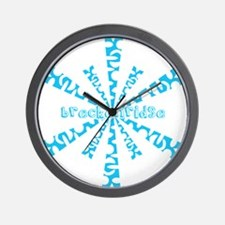 Funny Half pipe Wall Clock