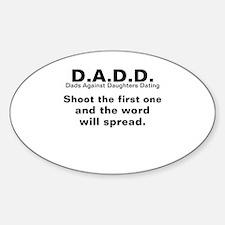 DADD Sticker (Oval)