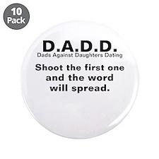 "DADD 3.5"" Button (10 pack)"