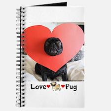 Love Pug-Journal