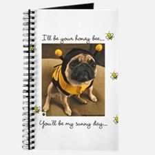 Honey Bee-Pug-Journal