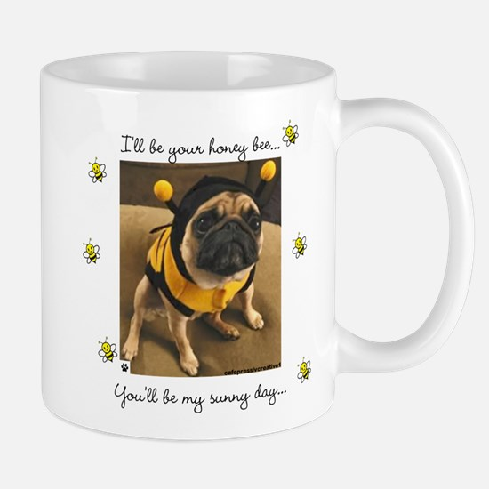 Honey Bee-Pug-Mug