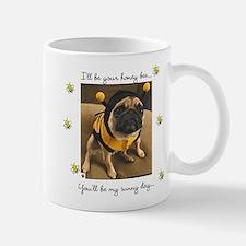 Honey Bee-Pug-Small Small Mug