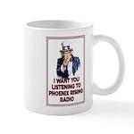 P.R.R. Rise Above! Mug