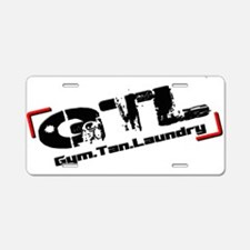 GTL3 Aluminum License Plate