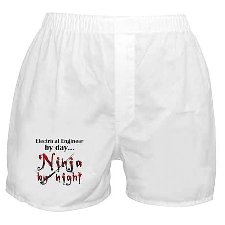 Electrical Engineer Ninja Boxer Shorts
