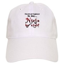 Electrical Engineer Ninja Baseball Cap