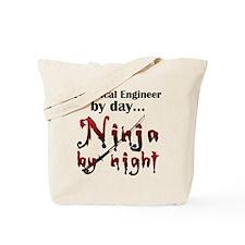 Electrical Engineer Ninja Tote Bag