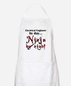 Electrical Engineer Ninja Apron
