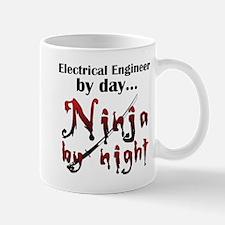 Electrical Engineer Ninja Mug