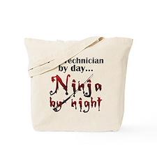 Lab Technician Ninja Tote Bag