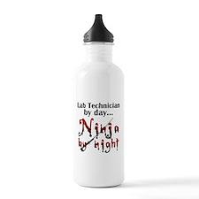 Lab Technician Ninja Water Bottle