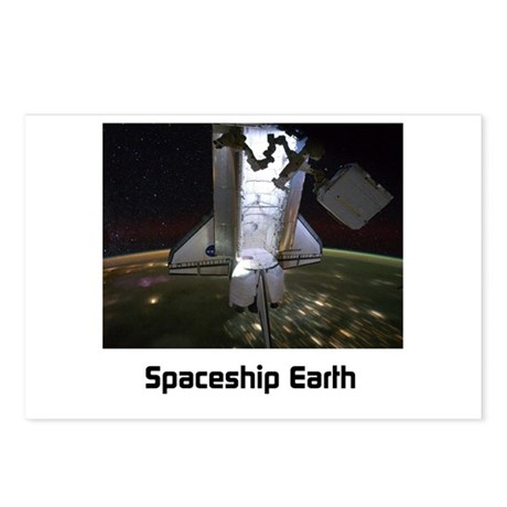 Spaceship Earth Postcards (Package of 8)