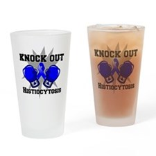 Knock Out Histiocytosis Drinking Glass