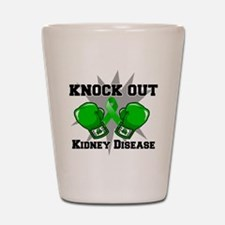 Knock Out Kidney Disease Shot Glass