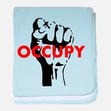 OCCUPY baby blanket