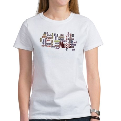 Women's Classical Music T-Shirt