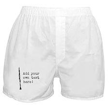 Custom Clarinet Boxer Shorts