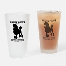 Haute Paws Drinking Glass