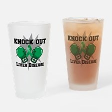 Knock Out Liver Disease Drinking Glass