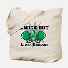 Knock Out Liver Disease Tote Bag