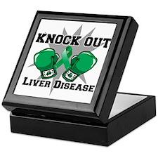 Knock Out Liver Disease Keepsake Box