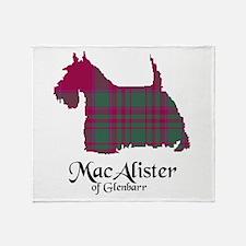 Terrier - MacAlister of Glenbarr Throw Blanket