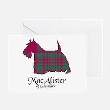Terrier - MacAlister of Glenbarr Greeting Card