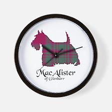 Terrier - MacAlister of Glenbarr Wall Clock