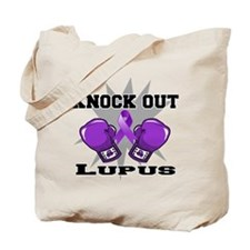 Knock Out Lupus Tote Bag