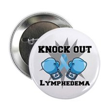 "Knock Out Lymphedema 2.25"" Button"