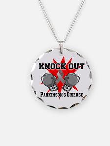 Knock Parkinsons Disease Necklace