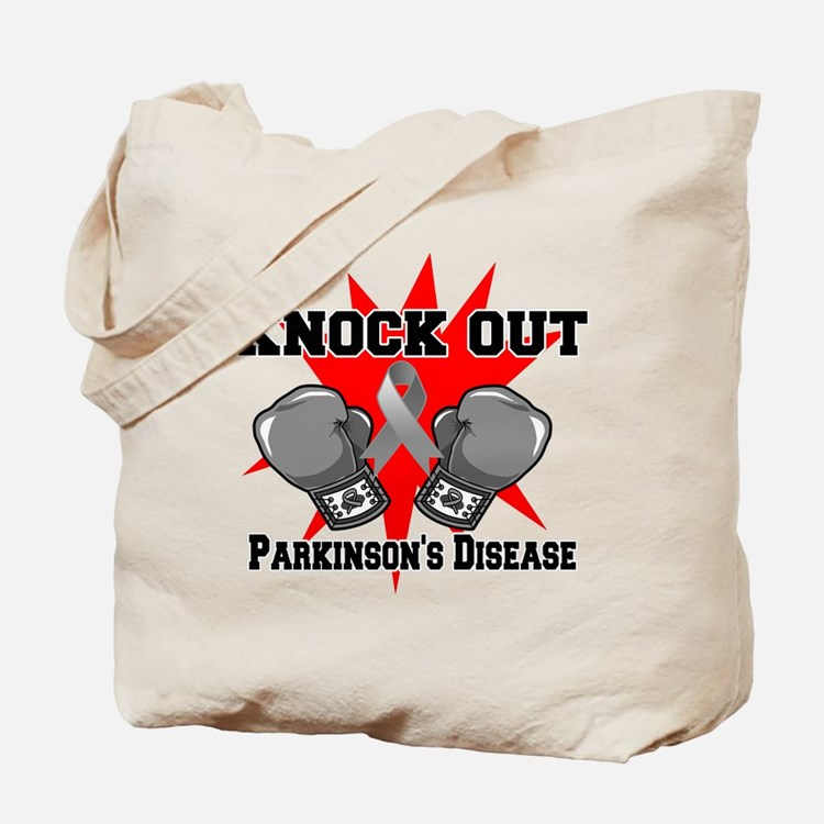 Knock Parkinsons Disease Tote Bag