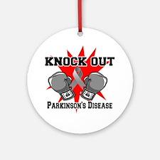 Knock Parkinsons Disease Ornament (Round)