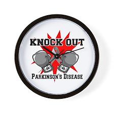 Knock Parkinsons Disease Wall Clock