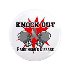 """Knock Parkinsons Disease 3.5"""" Button"""