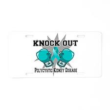 Polycystic Kidney Disease Aluminum License Plate