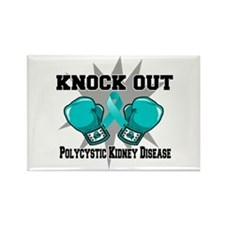 Polycystic Kidney Disease Rectangle Magnet