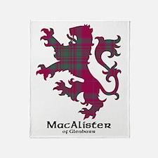Lion - MacAlister of Glenbarr Throw Blanket
