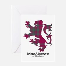 Lion - MacAlister of Glenbarr Greeting Card